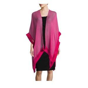 Hot pink Cejon Kimono